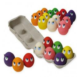 Huevos de Colores Variados Latex