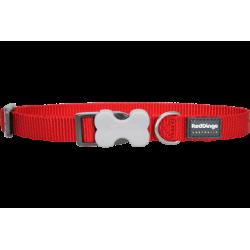 Collar Red Dingo Nylon Liso...