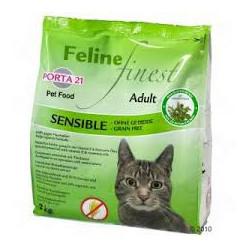 Porta 21 Feline Finest Sensible (sin cereales)