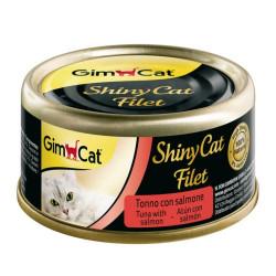 Shiny Cat Filet Atún-Salmón...